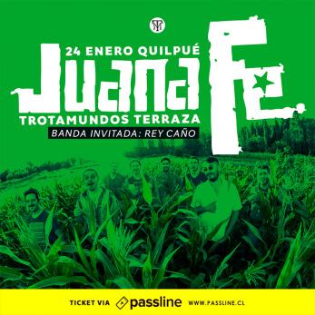 Juana Fe En Trotamundos Terraza Passline